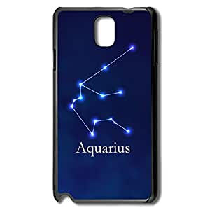 AOPO Phone Cases For Samsung Note 3,Aquarius Personalize Making Samsung Note 3 Cover Case
