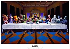 Ron English – Last Cartoon (last supper parody) Movie Poster ...