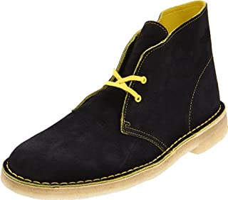 Clarks Men's Desert Boot,Black Suede/Yellow,11 M US (B0058ZNLV2) | Amazon price tracker / tracking, Amazon price history charts, Amazon price watches, Amazon price drop alerts