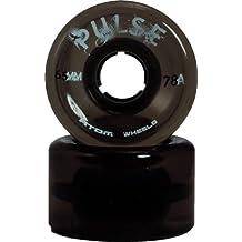 Atom Pulse Black Wheels - Atom Pulse Outdoor Roller Derby Skate Wheels