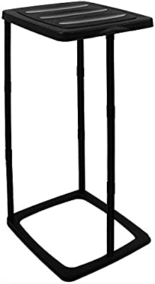 70x35x30cm Papelera Color negro 60 L Soporte de pl/ástico para bolsas de basura max