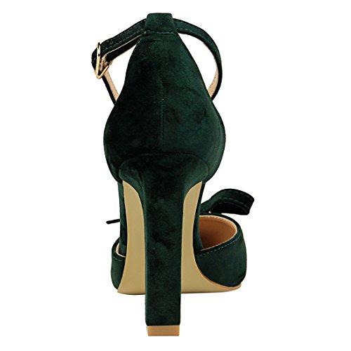 5 DS293 5 Green Miyoopark 36 Vert Femme pour Escarpins MiyooparkUK EU aUxn5qwE