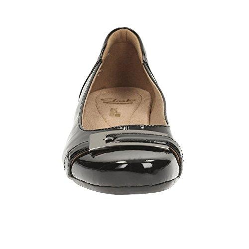 Color West Blanche Bailarina Negro Negro Gl Schwarz Zapatos Modelo CLARKS Mujer CLARKS nzend Bailarina para para Zapatos Mujer Marca qtp6q