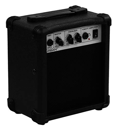 Urban G10 10-watt 1x5 Guitar Combo Amp, Black