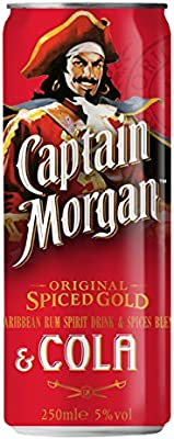 Captain Morgan Ron - 250 ml: Amazon.es: Alimentación y bebidas