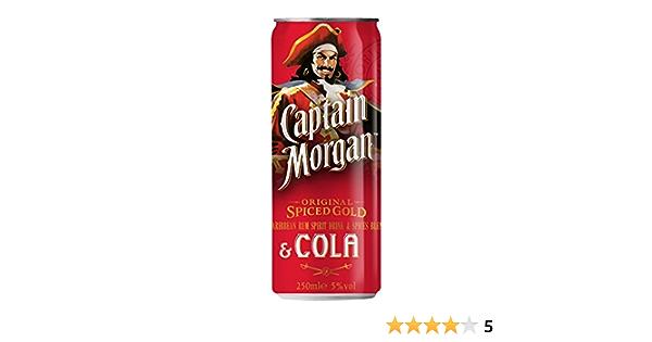 Captain Morgan Ron, 250ml