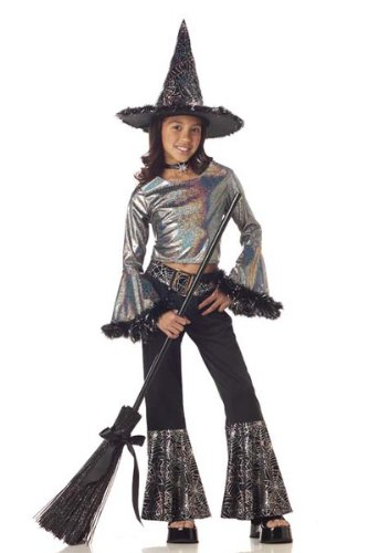 Hip Witch Costume - Small (Witch Costume With Pants)