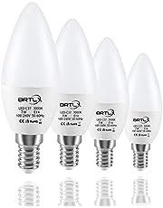 BRTLX G45 LED Lampen E14 5W Warmweiß 3000K 45W Glühbirne Entspricht 220° Abstrahlwinkel 400lm Nicht Dimmbar 4er Pack