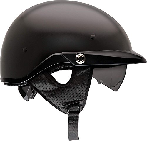 Bell Pit Boss Open-Face Motorcycle Helmet (Solid Matte Black, Large)