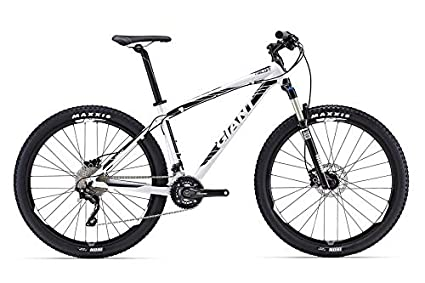 625199d9b09 Giant Talon 27.5 1 Sports Bicycle (White, Large) Mountain/Hardtail Cycle