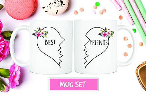 Best Friend Gift, Best Friend Moving, Distance Friendship, Moving Away Mug, Best Friends Forever, Moving Gift, Long Distance Mug, Coffee Mug Unique Gift Novelty Ceramic Coffee Mug Tea Cup - 11oz White