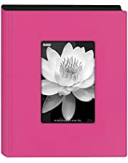"Pioneer Photo Albums KZ-46 Hot Pink Mini Frame Cover Photo Album, 4"" x 6"""