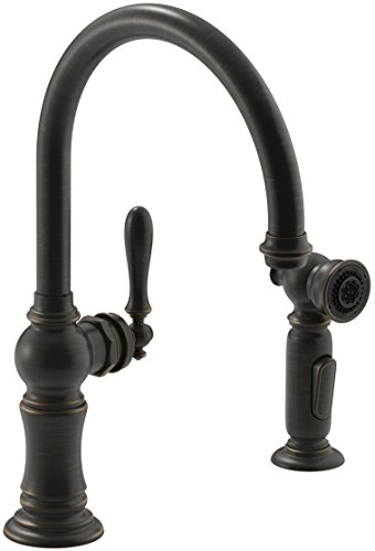 Kohler K 99262 Vs Artifacts 2 Hole Kitchen Sink Faucet And 14 11 16