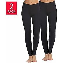 Legging Velvety Super Soft LightWeight By Felina Black 2 Pack New Arrival