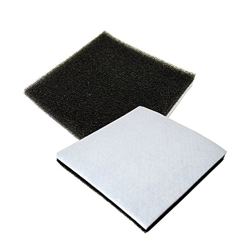 HQRP 2-Pack Foam Filter for Kenmore 116.21714 / 21714, 116.