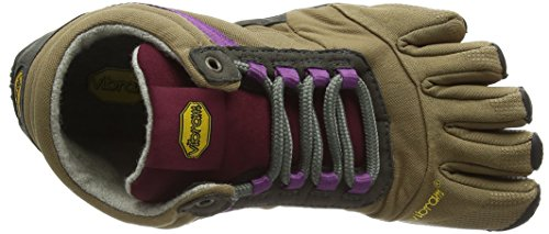 Women's Shoe Insulated Grape Ascent Trek Women's Khaki Vibram wqP8646