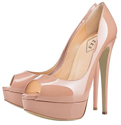 Zapatos Nackt Tacón EKS de Mujer xPYpzz6wqO
