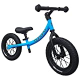 Banana GT Balance Bike – 12″ Alloy Wheels Air Tires for Girls and Boys 2, 3, 4, 5 Year Olds