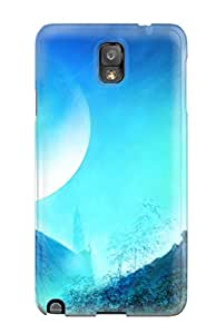 Slim Fit Tpu Protector Shock Absorbent Bumper Artistic Case For Galaxy Note 3