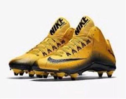 Nike Herren Alpha Pro 2 Fußballschuh Gelb Schwarz