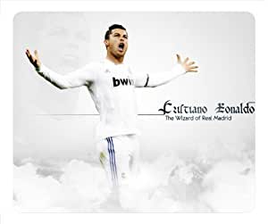 Cristiano Ronaldo Real Madrid Shinning Star Mousepad, Customized Oblong Mouse Pad - popcustom