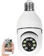 WANYANG Câmera IP WiFi, 1080P Câmera de Segurança Base E27 com Visão Noturna, Camera Vigilancia para Celular Android / IOS Controle Remoto APP
