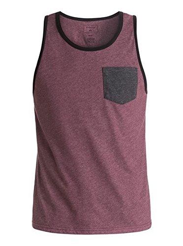 Quiksilver Men's Choice Pocket Tank Top, White, Small
