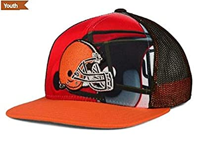 Outerstuff NFL Youth Stealth Snapback Cap (Cleveland Browns)