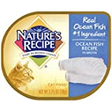 NATURE'S RECIPE 799659 18-Pack Ocean Fish Recipe Broth For Cat, 2.75-Ounce