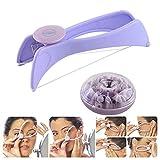Facial Hair Remover gLoaSublim,Facial Hair Remover Threading Epilator Defeatherer Spring DIY Beauty Makeup