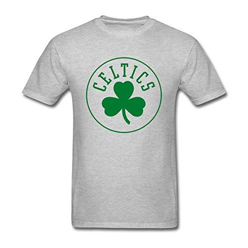 Oryxs Men's Boston Fans T-Shirt XXL Grey