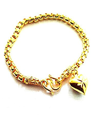 Elegant Thai 22k 23k 24k Gold Plated Gp Bracelet Bangle - 22k Bracelet