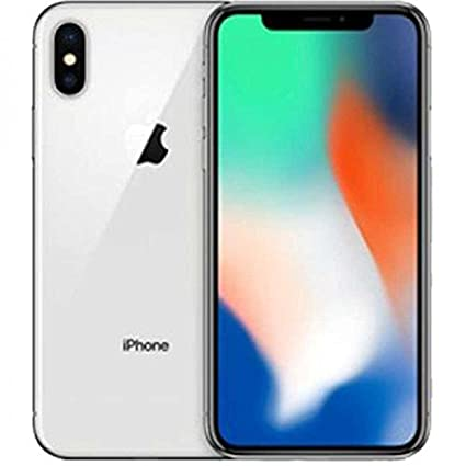"Apple iPhone X Single SIM 4G 256GB Silver - Smartphones (14.7 cm (5.8""), 256 GB, 12 MP, iOS, 11, Silver)"