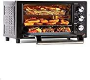 """PowerXL 8-in-1 Air Fryer Grill, Roast, Bake, Rotisserie, Electric Indoor Grill 12.5"""" x 10"""""""