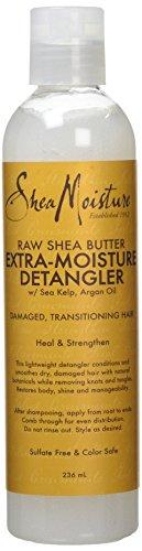 (Shea Moisture Raw Shea Butter Extra Moisture Detangler, 236 ml)