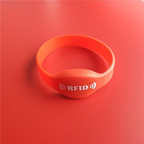 Amazon price history for Business to custmer Red : 125Khz T5577 Writable Silica Gel Wristband RFID Bracelet Proximity Access Control ID Card 65MM