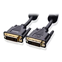 Cable Matters Gold Plated DVI-D Dual Link Cable 6 Feet