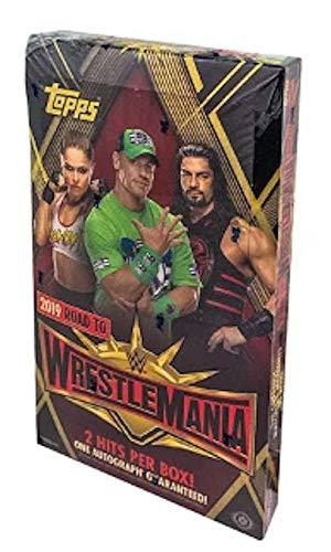 Wrestling Box Hobby (2019 Topps WWE 'Road to Wrestlemania' Wrestling HOBBY box (24 pk))