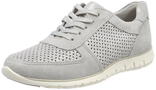 Marco Sneaker Prix Trapu Damen 23749 Grau (lt.grey Met.c.)