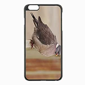 iPhone 6 Plus Black Hardshell Case 5.5inch - macro Desin Images Protector Back Cover