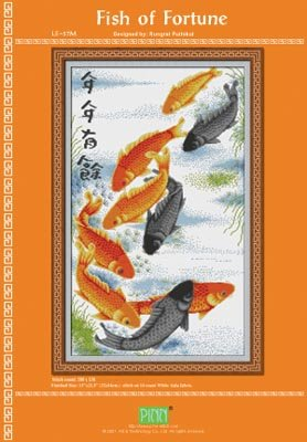 Fish of Fortune - Cross Stitch Pattern