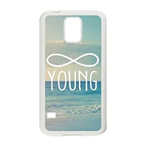 wugdiy New Fashion Hard Back Cover Case for SamSung Galaxy S5 I9600 with New Printed Infinite Young