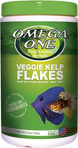 Omega One Super Veggie Kelp Flakes 5.3 - Ethoxyquin Food Pet