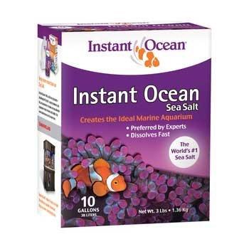 - Instant Ocean Aquarium Sea Salt