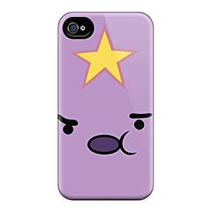Series Skin Case Cover For Iphone 4/4s(adventure Time Lumpy Space Princess)