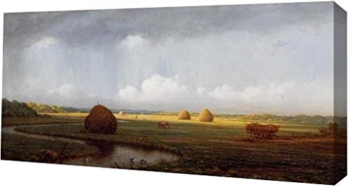 Sudden Shower, Newbury Marshes by Martin Johnson Heade - 8