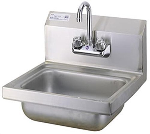 Stainless Steel NSF Hand Sink 10'' X 14'' by L&J IMPORT by L&J IMPORT