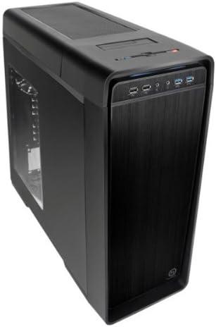 Thermaltake Urban S41 - Caja de Ordenador (Midi-Tower, PC, SECC, ATX, Micro- ATX, Juego, Frente): Amazon.es: Informática