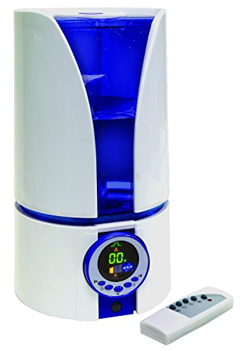 Quiet Ultrasonic Cool Air Mist Filter-free Humidifier 1.1 Ga