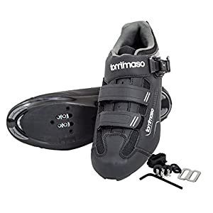 Tommaso Strada 200 Dual Cleat Compatible Spin Class Ready Bike Shoe - SPD - 48